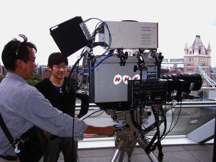 NHK Super Hi-Vision camera