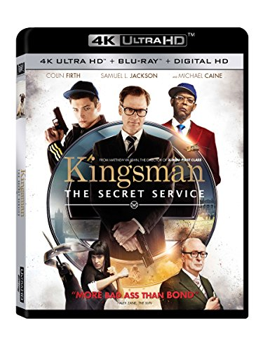 Kingsman: The Secret Service 4k Ultra Hd [Blu-ray]